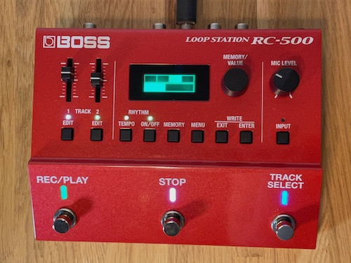 loop station recensione relazione loopstation confronto boss test rhythm looper