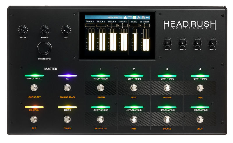 loop station review loopstation comparison headrush looperboard looper multitrack